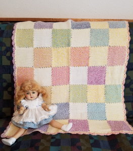 Yellow and Rainbow Blanket